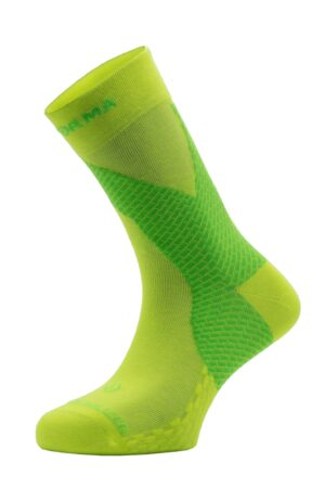 ANKLE STABILIZER TAPE SOCKS – MEDIUM COMPRESSION – YELLOW