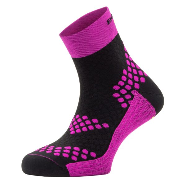 ANKLE SOCKS PRO ACTIVE MEDIUM COMPRESSION – FUCHSIA