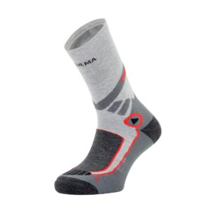 HIKING SOCKS ALL SEASON - COOLMAX - GRAY