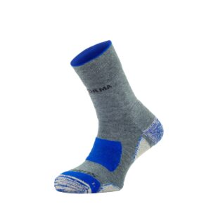KYPROS – HITREKK COOLMAX SOCKS – ANTI-BACTERIAL – GREY/BLUE